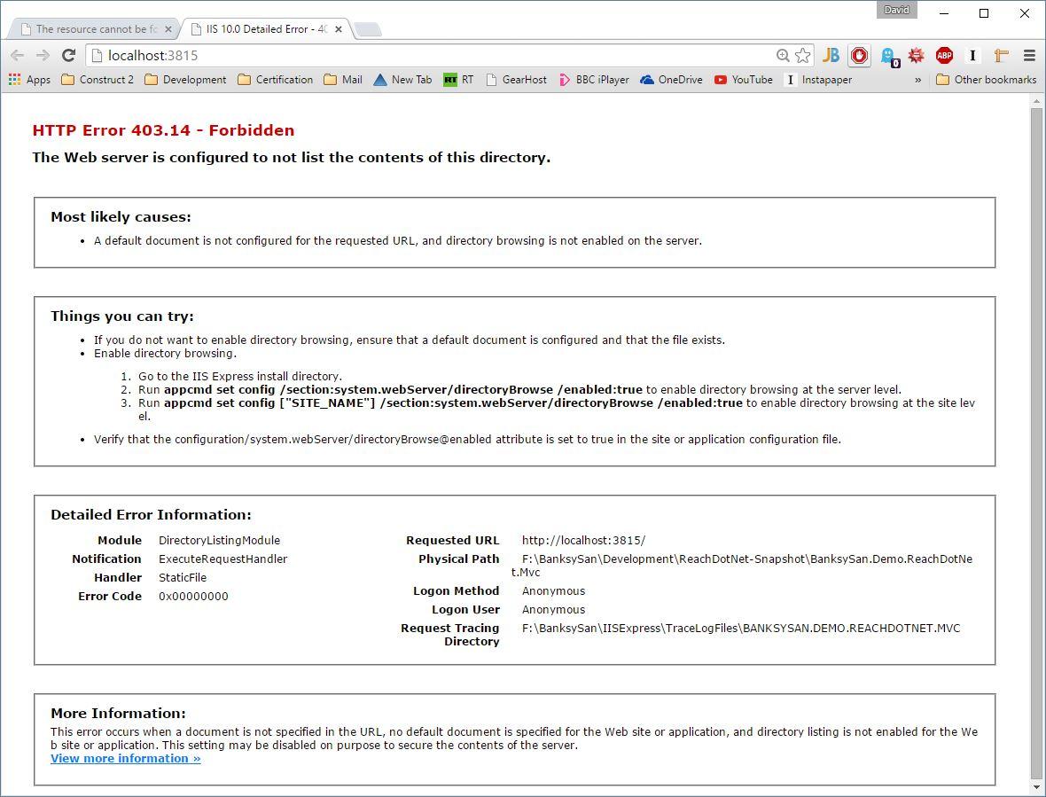 Banksysan reach wiki mvcrazor mvc lesson plan bitbucket http error 40314 forbidden 1betcityfo Image collections