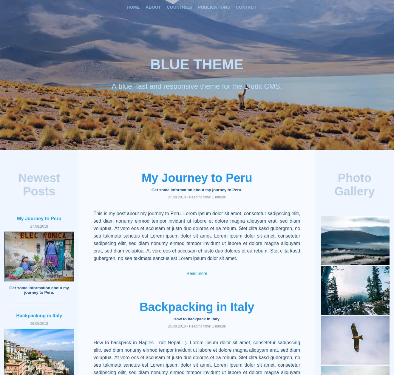 Blue - Home - Desktop