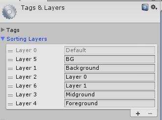 Sorting Layers