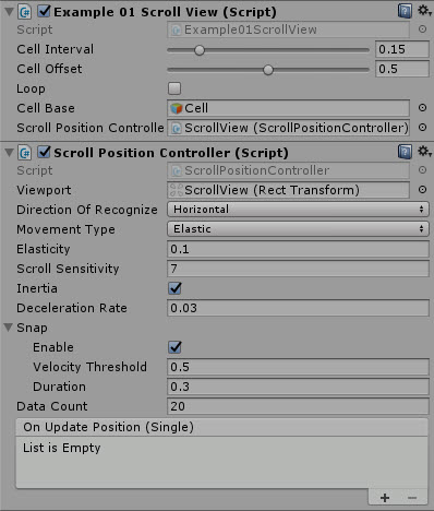 Unity Scroll View