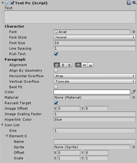 UnityUIExtensions / Unity-UI-Extensions / wiki / Controls / TextPic