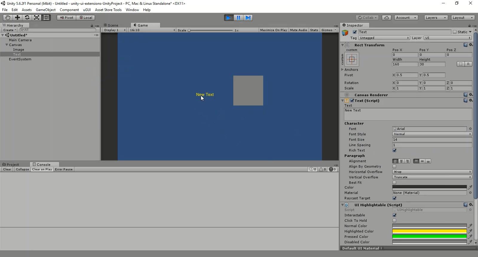 UnityUIExtensions / Unity-UI-Extensions — Bitbucket