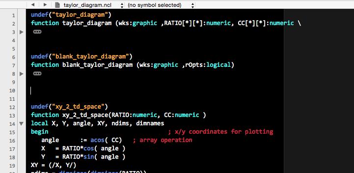 folded code
