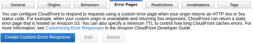 Create Error Response