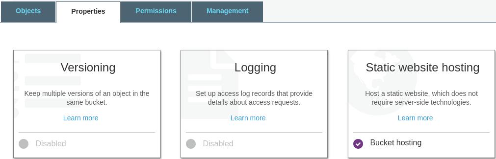 Enable Website Hosting