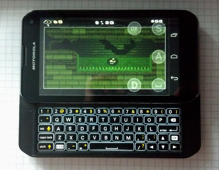 Gish running on Motorola Photon Q