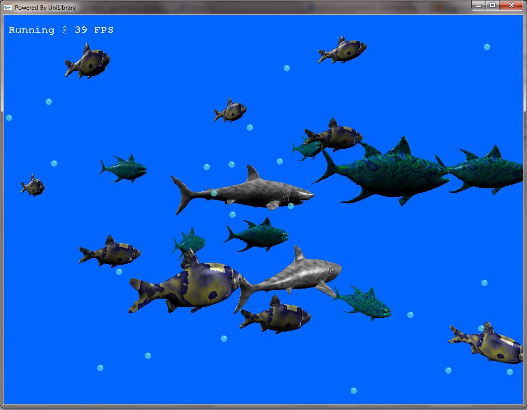 Procedural Fish