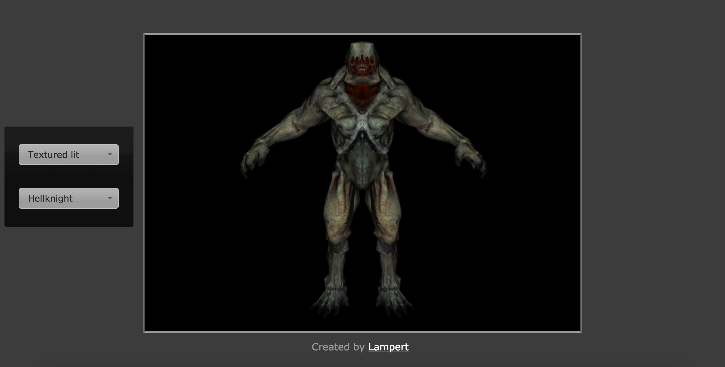 Doom 3 MD5 model viewer