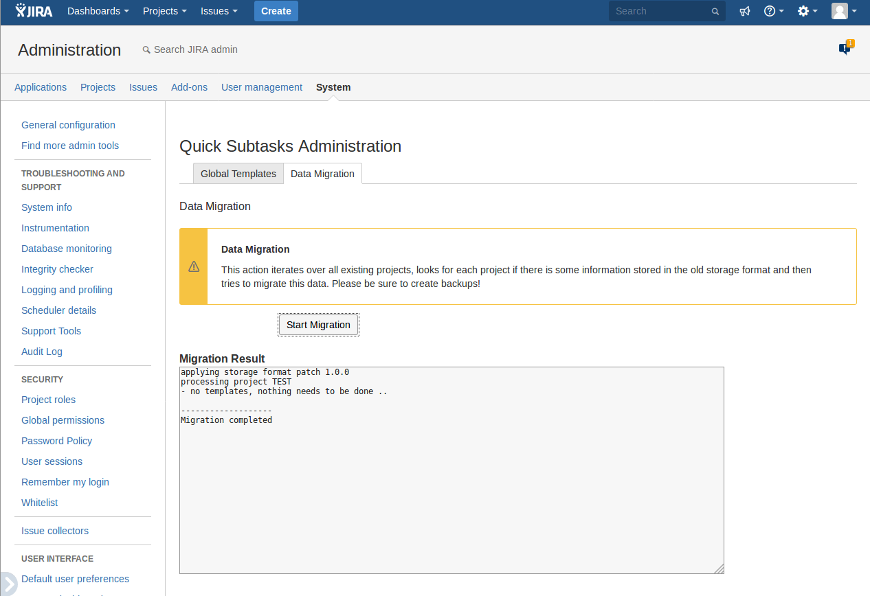 hascode / jira-quick-subtasks / wiki / Home — Bitbucket