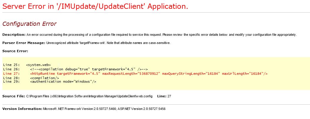 HTTP Runtime