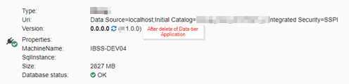Deleted DacPac