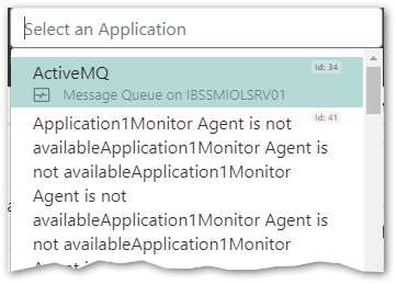 Filter on Application