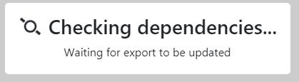 Checking dependencies