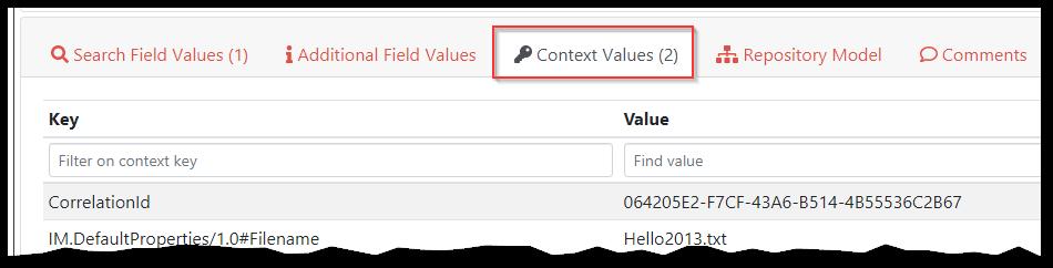 Context Values