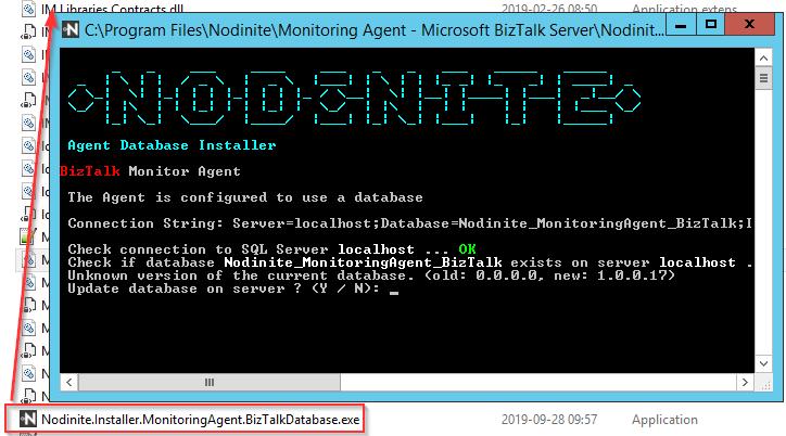 Agent database update