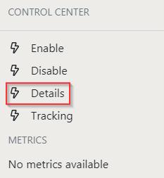 Details Action Button