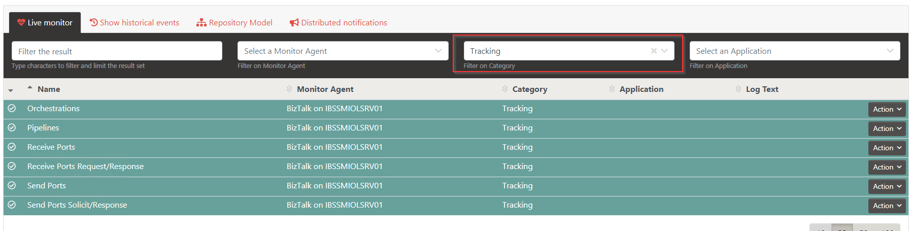 TrackingResources