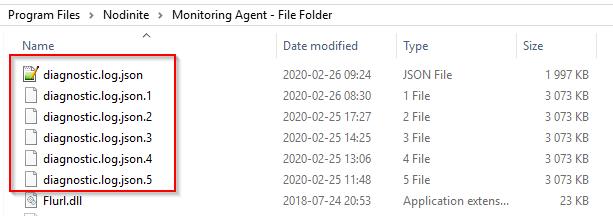 Diagnostics files