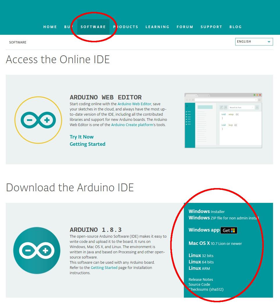 Preferències Arduino IDE
