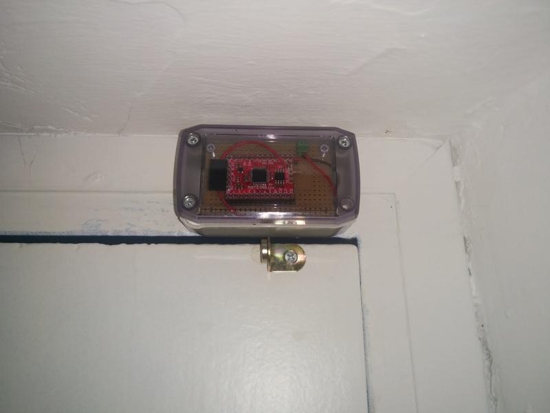 Door Monitor with Magnet