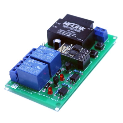 Jorge García Wifi + Relays Board Kit